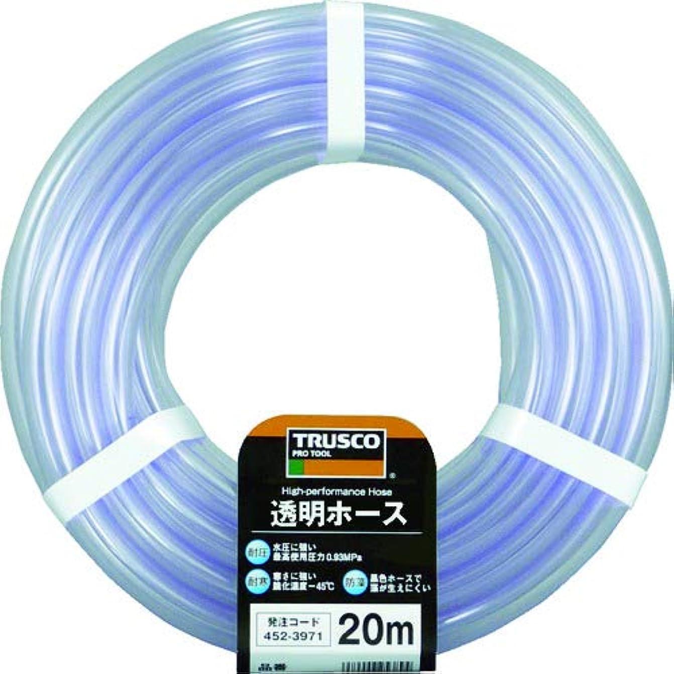 除外する気晴らしフォージTRUSCO(トラスコ) 透明ホース15×18 20mカット TTM1518C20