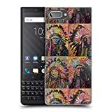 Head Case Designs Licenciado Oficialmente Dean Russo Cuadrante de Jefes Cultura Pop Carcasa rígida Compatible con Blackberry KEY2