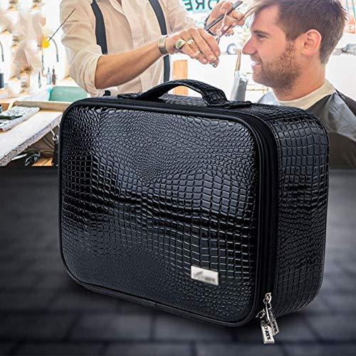 YJTGZ Barber Tool Bag Ceinture Barber Bag pour Les coiffeurs PU Cuir Outils Carry Bag pour Ciseaux Peignes