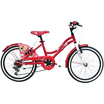 Disney-Bicicleta Infantil, diseño de Minnie Mouse, Color Rosa, 26 ...