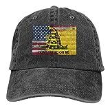 Dad Cap Bandera Americana Denim Protección Solar Gorra De Béisbol Pesca Ajustable Compras Hip Hop Sombrero De Papá Deportes Al Aire Libre Gorra De Béisbol Clásica Sombreros De CAM