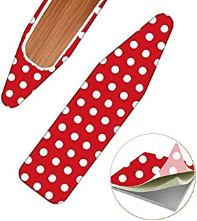"""TUYU 15"""" x51"""" Ironing Board Cover,Heat and Anti-Focus Iron Board Cover,Ironing Board Replacement Cover with Elasticized Ed..."""