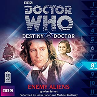 Doctor Who - Destiny of the Doctor - Enemy Aliens cover art