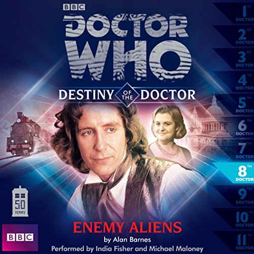 Doctor Who - Destiny of the Doctor - Enemy Aliens                   De :                                                                                                                                 Alan Barnes                               Lu par :                                                                                                                                 India Fisher,                                                                                        Michael Maloney                      Durée : 1 h     Pas de notations     Global 0,0