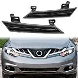 ECOTRIC Right & Left Headlight Reflector Panels Compatible with 2009-2014 Nissan Murano 26063-1AA0B(LH) 26013-1AA0B(RH)