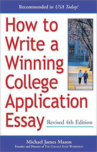 How to Write a Winning College Application Essay, Revised 4th Edition -  Mason, Michael James, Paperback