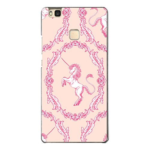 DISAGU SF de SDI de 4610_ 1128# zub- cc6496Diseño Carcasa para Huawei P9Lite–Diseño clásico patrón de Unicornio Rosa