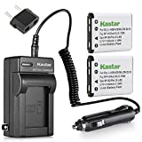 Kastar 2X Battery + Charger for Olympus...