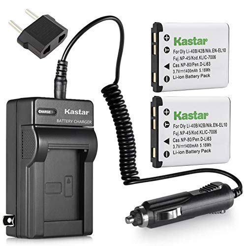 CHARGER KIT for NIKON COOLPIX S5100 S-5100