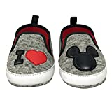 Disney Mickey Mouse Red and Black Infant Shoes - Size 9-12 Months