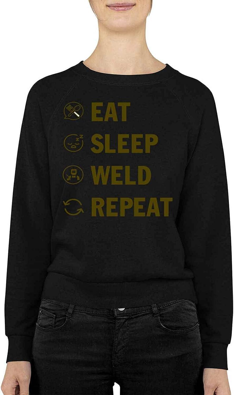 Welder Large discharge sale Eat Sleep Weld For M Ranking TOP2 Welding Repeat