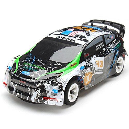 PhilMat WLtoys k989 1/28 2.4g 4wd rc spazzolato vettura da rally rtr