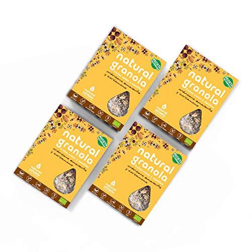 Granola Cranberry, Amarante et Cardamome Natural Athlete, Fruits Secs et Graines BIO, Sans Gluten, Végan, Sans Sucres Ajoutés, 325 g