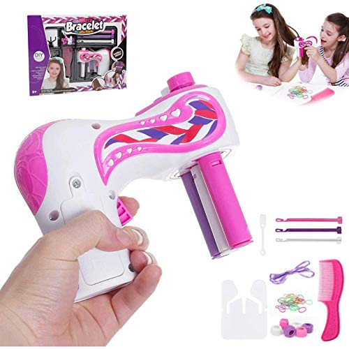 Famous Tik Tok Automatic Hair Braider, Quick Twist 3 Shares Hair Braiding Tool, DIY Magic Hairdressing Tool Roller, Hair Twister Play Easy Braids Playset for Girls, Women and Teens