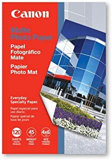 Canon Matte Paper, 4×6 Inches, 120 Sheets