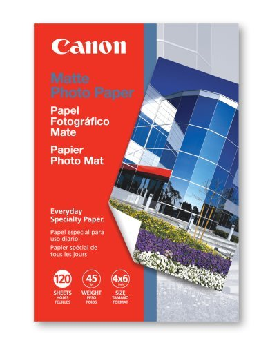 Canon MP-101 4-Inch x 6-Inch Matte Photo Paper (120 Sheets/Package)