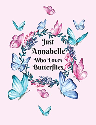 just Annabelle who loves butterflies:...