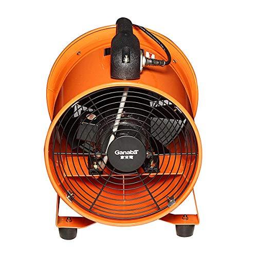 Voiture électrique Fan180W 220V 10 stuks draagbare extracteur de soufflante garage industriële huid ventilatie ventilator rotatif voiture electricque