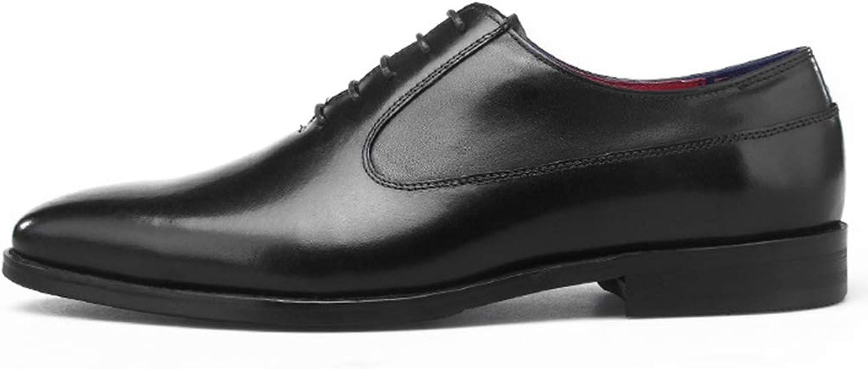 K -Flame herrar Genuine läder läder läder skor s Oxford Business skor s Pointed Toe Lace ups Formal Dress skor Work Utility Footwear  för att ge dig en trevlig online shopping