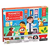 Petit Collage PTC336 Pet Hospital Magnetic Play Scene Set, Multi