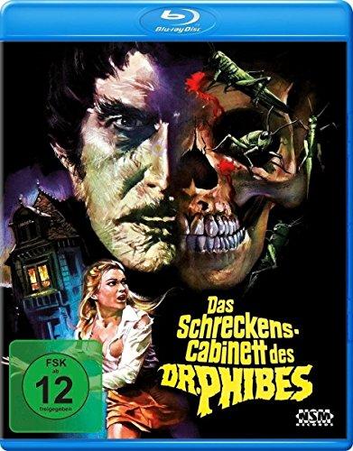 Das Schreckenskabinett des Dr. Phibes [Blu-ray]
