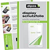 dipos I 2X Schutzfolie matt kompatibel mit Acer Iconia Tab 8 Folie Bildschirmschutzfolie