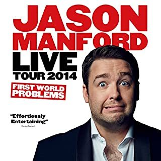 Jason Manford Live Tour 2014 - First World Problems cover art