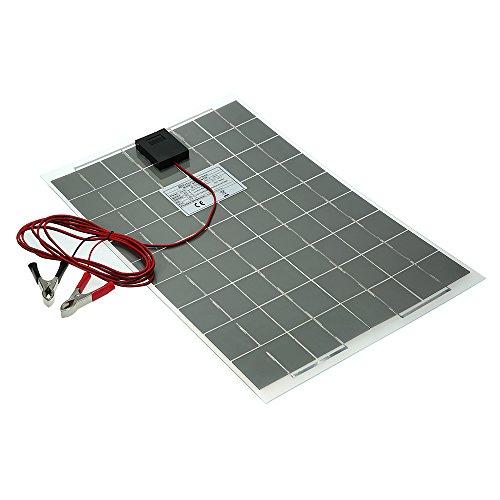 Módulo de panel solar monocristalino de enjoysolar 30W 12V Semi Flexibles Sistema de Panel Solar...
