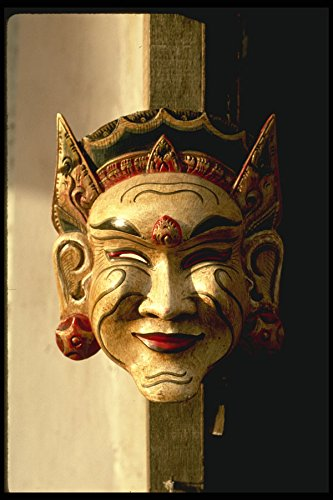 Bali 202033 Balinese Masker A4 Photo Poster Print 10x8
