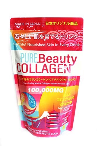 Pure Beauty Collagen 100,000mg Marine Collagen Powder Mix