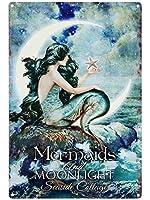 LASMINE Mermaids&Moonlight ???????? ????? ????? ???? ???????? ??? ?????? ????? ???? ??? ???? ????8X12???