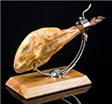 Jamón ,100% ,Ibérico De Bellota ,Pata Negra, + Carving Kit ,Stand, knife , guide
