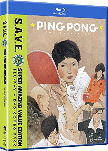 Ping Pong The Animation: Complete Series - Save (4 Blu-Ray) [Edizione: Stati Uniti] [Italia] [Blu-ray]