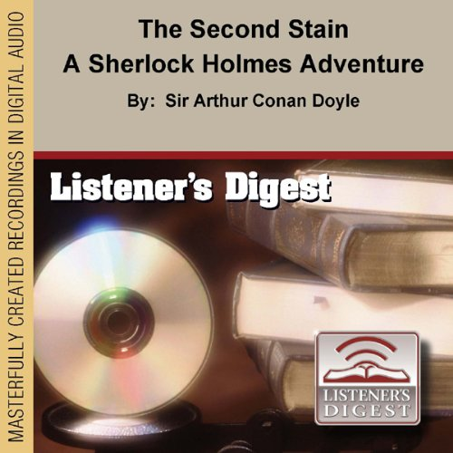 The Second Stain audiobook cover art