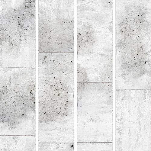 murando - PURO TAPETE - Realistische Tapete ohne Rapport und Versatz 10m Vlies Tapetenrolle Wandtapete modern design Fototapete - Textur Beton grau f-C-0011-j-a