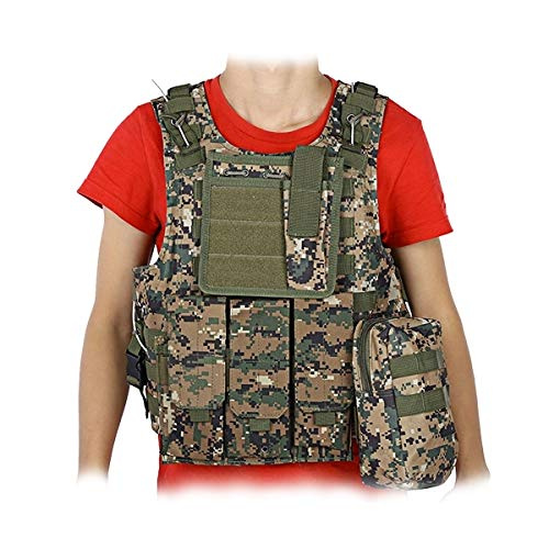Veste Tactique Multipoches Camouflage Gilet