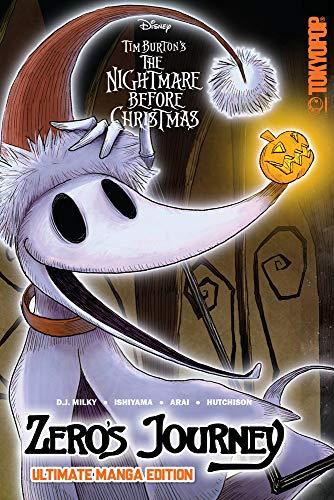 Disney Manga: Tim Burton's The Nightmare Before Christmas - Zero's Journey -...