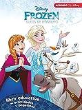 Frozen. Luces de invierno (Libro educativo Disney con actividades y pegatinas)