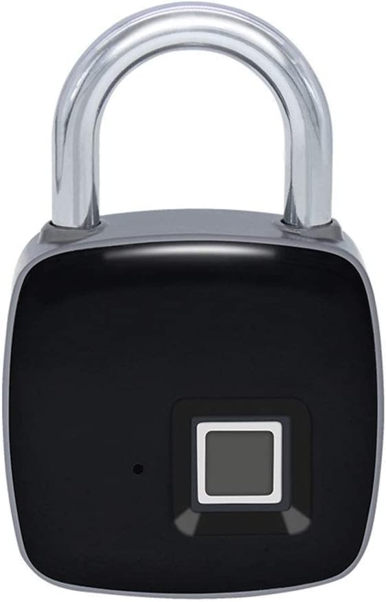 Selling rankings SPNEC Fingerprint Padlock One Touch Open S for Gym Locker Lock free