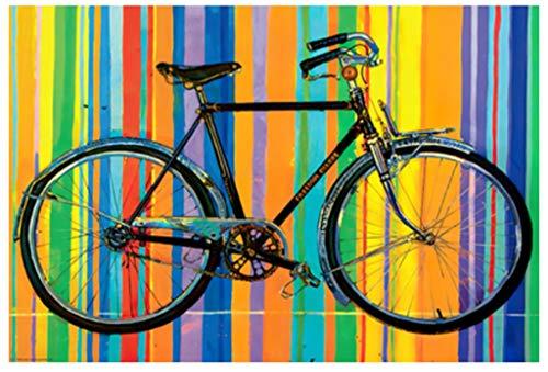 QJXSAN Primer Plano de Madera de bicicletas-1000 Rompecabezas Pieza Desafiando Juguetes educativos for Adultos juegoPor descompresión 500/300 Pieza for niños Hermosa Atractiva