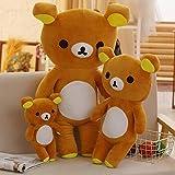 CPFYZH Big Brown Rilakkuma Peluche Doll Doll Oso Regalo de Cumpleaños 8