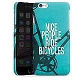 Apple iPhone 6 Plus Coque Étui Housse Nice People Ride Bicycles