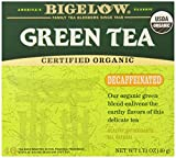 Bigelow Decaffeinated Organic Green Tea Bags, 40 ct