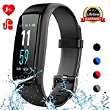 Mgaolo Fitness Tracker,Smart Watch Activity Tracker Health Bracelet Waterproof Wristband with Heart Rate