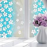 Vinilo adhesivo para ventana de 45 x 100 cm, para privacidad y ventana, PVC, impermeable, 45 x 100 cm