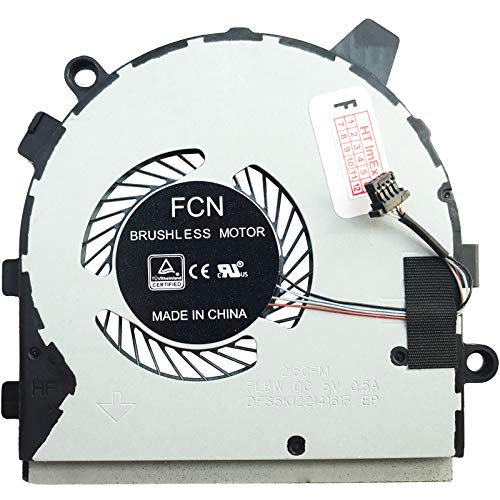 Cooling Fan Cooler for Dell Inspiron 13 7390, 13 7391, 7390 2-in-1, 7391 2-in-1