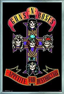Trends International Guns N' Roses - Cross Wall Poster, 24.25