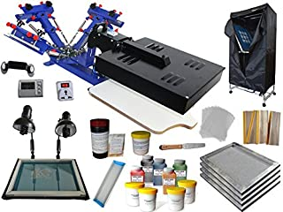 3-1 Color Screen Printing Starter Full Kit