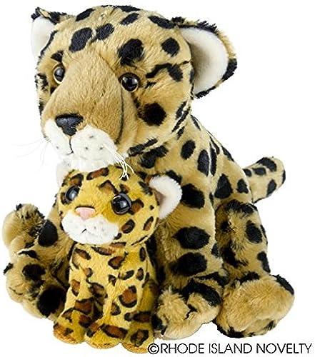 bajo precio del 40% Birth Birth Birth of LIfe Cheetah and Baby Plush Toy 10 High by Adventure Planet  ¡No dudes! ¡Compra ahora!