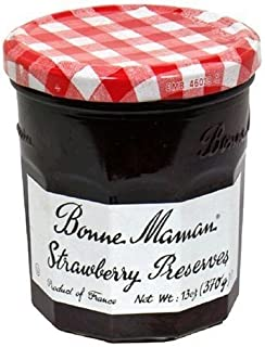 Bonne Maman, Preserve Strawberry, 13 Ounce
